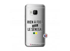 Coque HTC ONE M9 Rien A Foot Allez Le Senegal