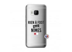 Coque HTC ONE M9 Rien A Foot Allez Nimes