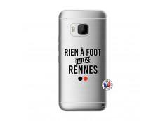 Coque HTC ONE M9 Rien A Foot Allez Rennes