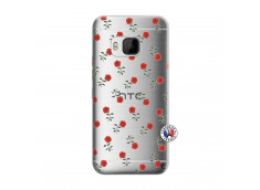 Coque HTC ONE M9 Rose Pattern