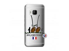 Coque HTC ONE M9 100 % Rugbyman Entre les Poteaux
