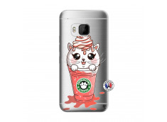 Coque HTC ONE M9 Catpucino Ice Cream
