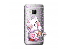 Coque HTC ONE M9 Smoothie Cat
