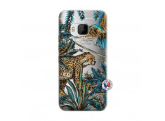 Coque HTC ONE M9 Leopard Jungle