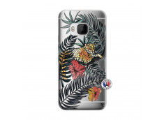 Coque HTC ONE M9 Leopard Tree