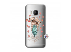 Coque HTC ONE M9 Puppies Love