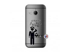 Coque HTC ONE Mini M8 Je peux pas j'suis pilote