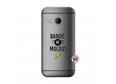 Coque HTC ONE Mini M8 Bandes De Moldus