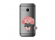 Coque HTC ONE Mini M8 Bouquet de Roses