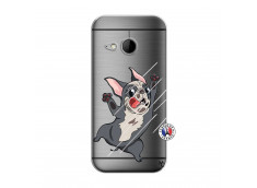 Coque HTC ONE Mini M8 Dog Impact