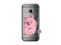 Coque HTC ONE Mini M8 Pig Impact