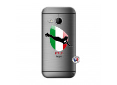 Coque HTC ONE Mini M8 Coupe du Monde Rugby-Italy