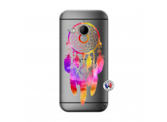Coque HTC ONE Mini M8 Dreamcatcher Rainbow Feathers