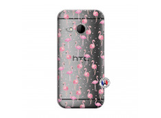 Coque HTC ONE Mini M8 Flamingo