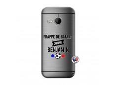 Coque HTC ONE Mini M8 Frappe De Batard Comme Benjamin