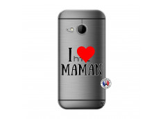 Coque HTC ONE Mini M8 I Love Maman
