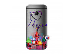 Coque HTC ONE Mini M8 I Love Moscow