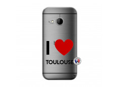 Coque HTC ONE Mini M8 I Love Toulouse