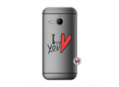 Coque HTC ONE Mini M8 I Love You
