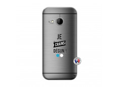 Coque HTC ONE Mini M8 Je Crains Degun
