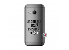 Coque HTC ONE Mini M8 Je Dribble Comme Cristiano
