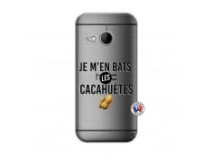 Coque HTC ONE Mini M8 Je M En Bas Les Cacahuetes
