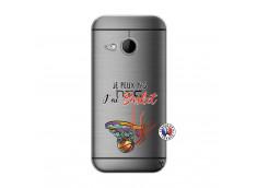 Coque HTC ONE Mini M8 Je Peux Pas J Ai Basket
