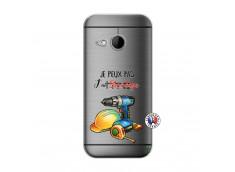Coque HTC ONE Mini M8 Je Peux Pas J Ai Bricolage