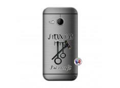 Coque HTC ONE Mini M8 Je peux pas j'ai crossfit