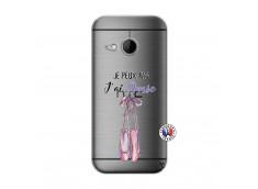 Coque HTC ONE Mini M8 Je peux pas j'ai danse