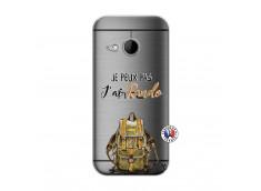 Coque HTC ONE Mini M8 Je Peux Pas J Ai Rando