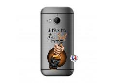 Coque HTC ONE Mini M8 Je Peux Pas J Ai Soif