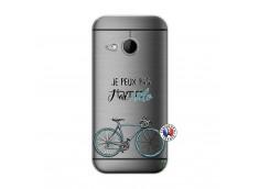 Coque HTC ONE Mini M8 Je Peux Pas J Ai Velo
