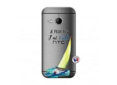 Coque HTC ONE Mini M8 Je Peux Pas J Ai Voile