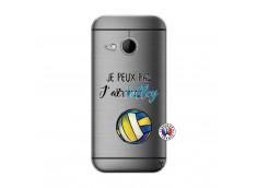 Coque HTC ONE Mini M8 Je Peux Pas J Ai Volley