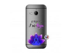 Coque HTC ONE Mini M8 Je Peux Pas J Ai Yoga