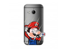 Coque HTC ONE Mini M8 Mario Impact
