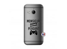 Coque HTC ONE Mini M8 Monsieur Mauvais Perdant