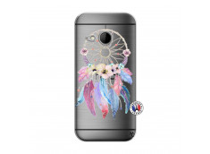 Coque HTC ONE Mini M8 Multicolor Watercolor Floral Dreamcatcher
