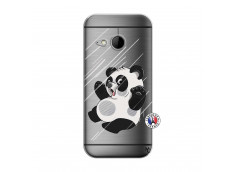 Coque HTC ONE Mini M8 Panda Impact