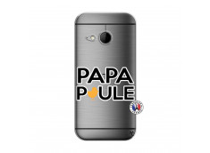 Coque HTC ONE Mini M8 Papa Poule