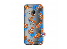 Coque HTC ONE Mini M8 Poisson Clown