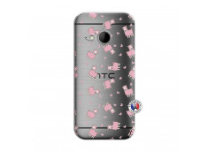 Coque HTC ONE Mini M8 Petits Moutons