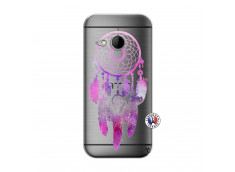 Coque HTC ONE Mini M8 Purple Dreamcatcher