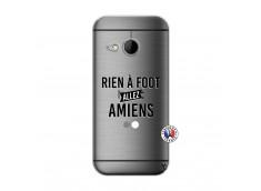 Coque HTC ONE Mini M8 Rien A Foot Allez Amiens
