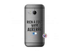 Coque HTC ONE Mini M8 Rien A Foot Allez Auxerre