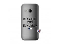 Coque HTC ONE Mini M8 Rien A Foot Allez Bordeaux