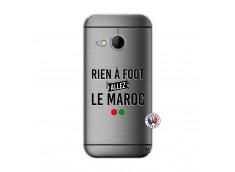Coque HTC ONE Mini M8 Rien A Foot Allez Le Maroc