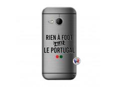 Coque HTC ONE Mini M8 Rien A Foot Allez Le Portugal