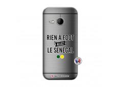 Coque HTC ONE Mini M8 Rien A Foot Allez Le Senegal